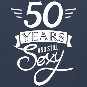 50 years and still sexy Sports wear - Men's Premium Tank Top