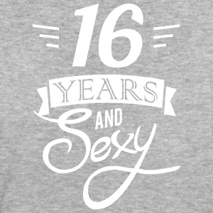 16 years and sexy T-Shirts - Frauen Bio-T-Shirt