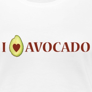 I LOVE AVOCADO - Frauen Premium T-Shirt