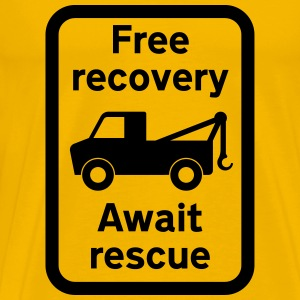 free recovery T-Shirts - Men's Premium T-Shirt