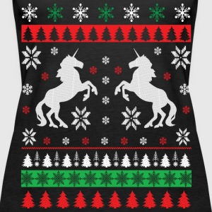 Einhorn - Ugly Christmas Tops - Women's Premium Tank Top