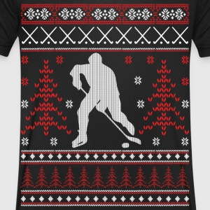 Eishockey - Ugly Christmas T-Shirts - Men's V-Neck T-Shirt