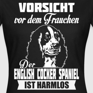 English Cocker Spaniel - caution T-Shirts - Women's T-Shirt