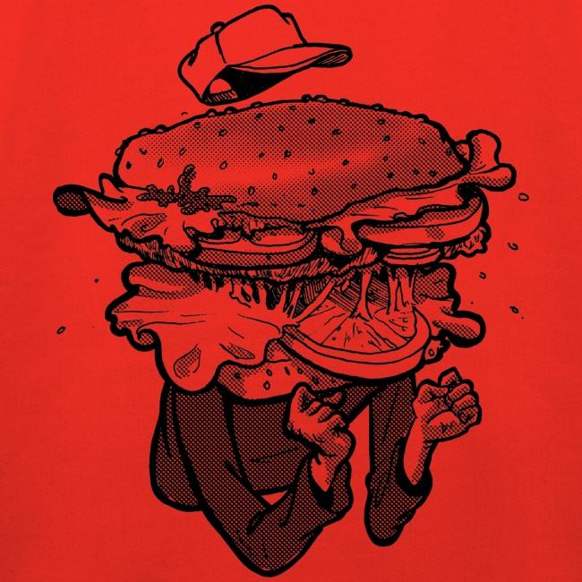 I am Hamburger Kids Hoodie
