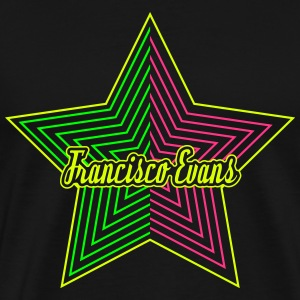 Francisco Evans Star Collection 09 T-shirts - Premium-T-shirt herr