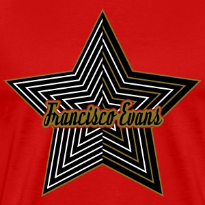 Francisco Evans Star Collection 11 T-shirts - Premium-T-shirt herr