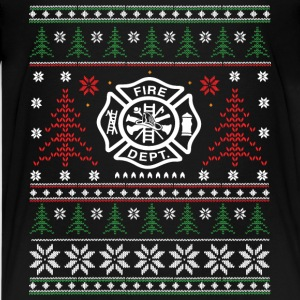 Fire - ugly Christmas Shirts - Teenage Premium T-Shirt