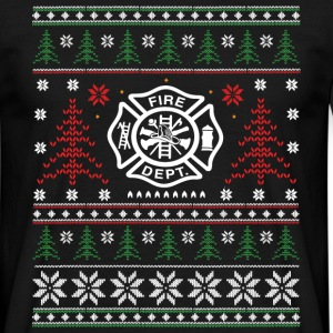 Fire - ugly Christmas T-Shirts - Men's T-Shirt