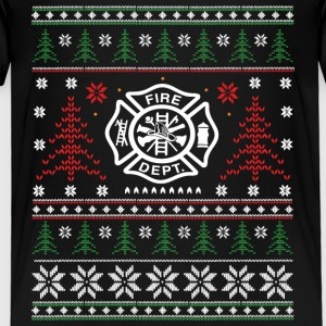 Fire - ugly Christmas Shirts - Kids' Premium T-Shirt