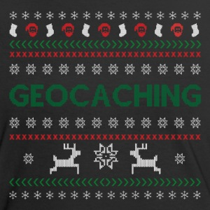 Geochaching- Weihnachtsdesign T-Shirts - Frauen Kontrast-T-Shirt