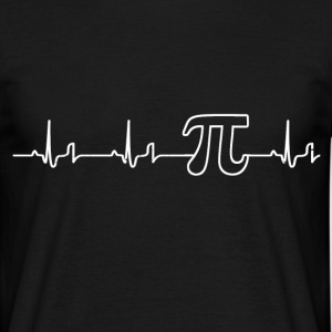 Heartbeat - Pi T-Shirts - Men's T-Shirt