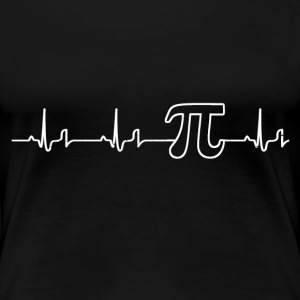 Heartbeat - Pi Shirt Damen - Frauen Premium T-Shirt
