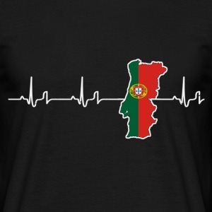 Heartbeat - Portugal Tee shirts - T-shirt Homme