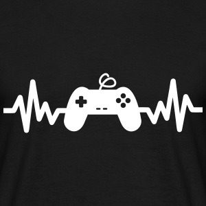 gaming is life -  gaming T-shirts - Herre-T-shirt
