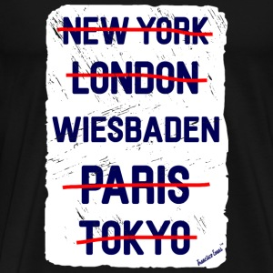 NY London Wiesbaden..., Francisco Evans ™ T-skjorter - Premium T-skjorte for menn
