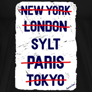 NY London Sylt..., Francisco Evans ™ T-shirts - Premium-T-shirt herr