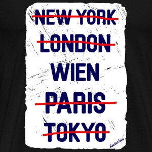 NY London Wien..., Francisco Evans ™ T-shirts - Herre premium T-shirt
