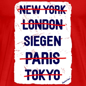 NY London Siegen..., Francisco Evans ™ T-skjorter - Premium T-skjorte for menn