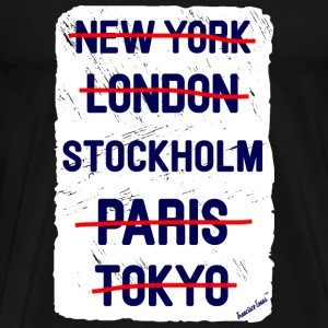 NY London Stockholm..., Francisco Evans ™ T-shirts - Mannen Premium T-shirt