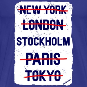 NY London Stockholm..., Francisco Evans ™ T-Shirts - Men's Premium T-Shirt