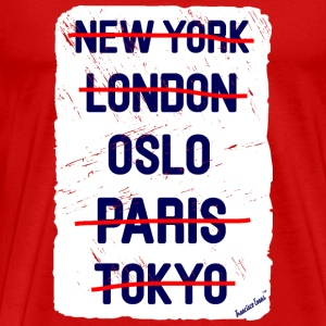 NY London Oslo..., Francisco Evans ™ T-shirts - Herre premium T-shirt