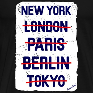 NY London New York..., Francisco Evans ™ T-skjorter - Premium T-skjorte for menn