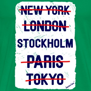 NY London Stockholm..., Francisco Evans ™ T-Shirts - Männer Premium T-Shirt