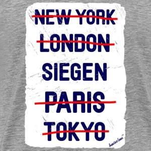 NY London Siegen..., Francisco Evans ™ T-shirts - Herre premium T-shirt