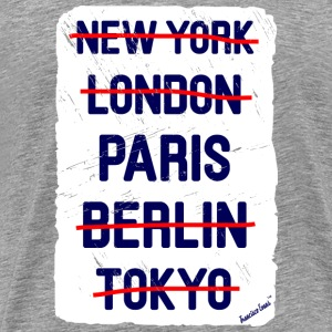 NY London Paris..., Francisco Evans ™ T-Shirts - Männer Premium T-Shirt