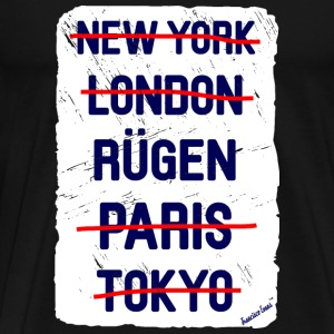 NY London Rügen..., Francisco Evans ™ T-shirts - Mannen Premium T-shirt
