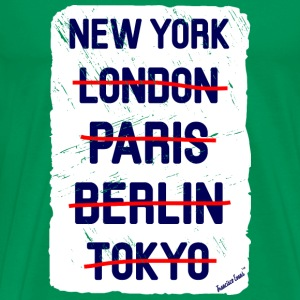 NY London New York..., Francisco Evans ™ T-shirts - Premium-T-shirt herr