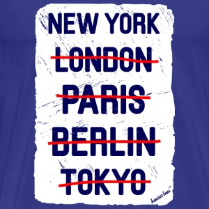 NY London New York..., Francisco Evans ™ T-Shirts - Men's Premium T-Shirt