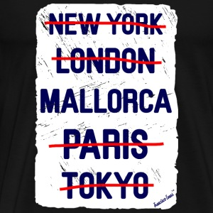 NY London Mallorca..., Francisco Evans ™ T-skjorter - Premium T-skjorte for menn
