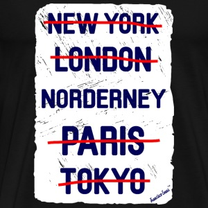 NY London Norderney..., Francisco Evans ™ T-shirts - Mannen Premium T-shirt