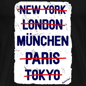 NY London München..., Francisco Evans ™ T-shirts - Herre premium T-shirt