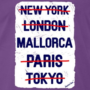 NY London Mallorca..., Francisco Evans ™ T-Shirts - Men's Premium T-Shirt