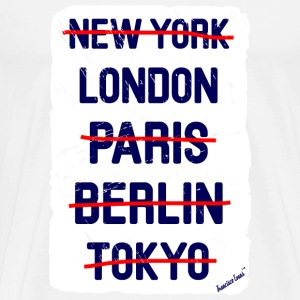 NY London..., Francisco Evans ™ Tee shirts - T-shirt Premium Homme