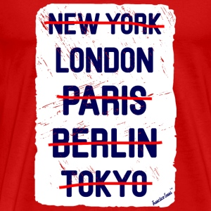 NY London..., Francisco Evans ™ T-shirts - Premium-T-shirt herr
