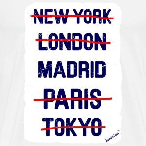 NY London Madrid..., Francisco Evans ™ T-Shirts - Männer Premium T-Shirt