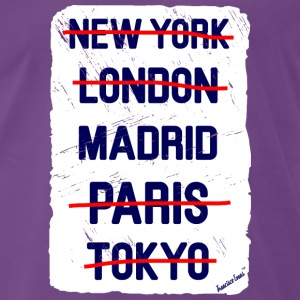 NY London Madrid..., Francisco Evans ™ T-shirts - Mannen Premium T-shirt