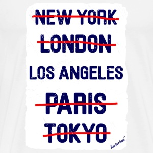 NY London Los Angeles..., Francisco Evans ™ T-shirts - Mannen Premium T-shirt