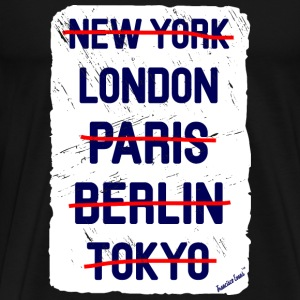 NY London..., Francisco Evans ™ T-shirts - Mannen Premium T-shirt
