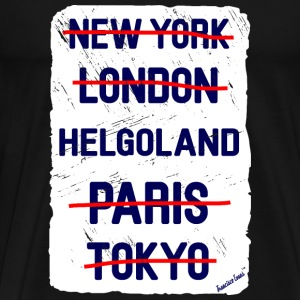 NY London Helgoland..., Francisco Evans ™ T-skjorter - Premium T-skjorte for menn