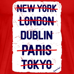 NY London Dublin..., Francisco Evans ™ T-shirts - Mannen Premium T-shirt