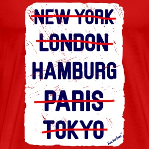 NY London Hamburg..., Francisco Evans ™ T-shirts - Herre premium T-shirt
