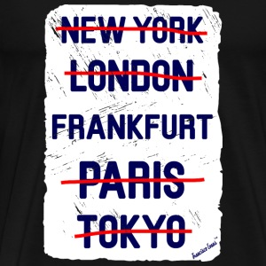 NY London Frankfurt..., Francisco Evans ™ T-skjorter - Premium T-skjorte for menn
