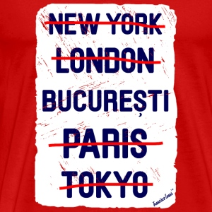 NY London București..., Francisco Evans ™ T-skjorter - Premium T-skjorte for menn