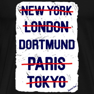 NY London Dortmund..., Francisco Evans ™ T-Shirts - Men's Premium T-Shirt