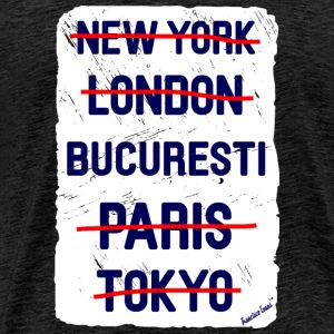 NY London București..., Francisco Evans ™ T-Shirts - Männer Premium T-Shirt