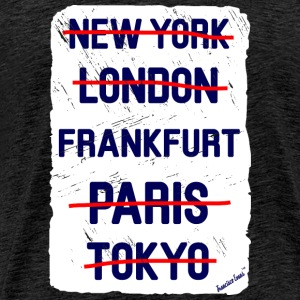 NY London Frankfurt..., Francisco Evans ™ T-Shirts - Men's Premium T-Shirt